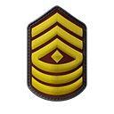 First Sergeant OR-8